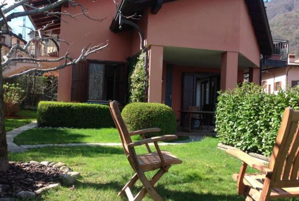 Apartment with Garden and Lake Como View  6