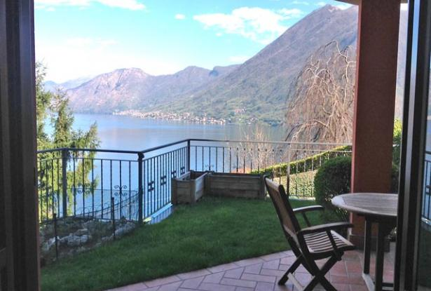 Apartment with Garden and Lake Como View  0