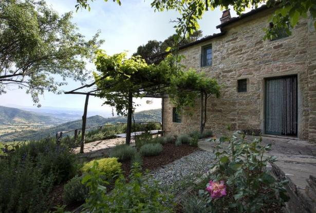 Restored Country Home for sale in Tuscany near Arezzo Ref. TCR-004  0