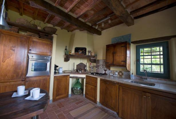 Restored Country Home for sale in Tuscany near Arezzo Ref. TCR-004  9