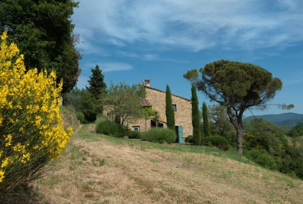 Restored Country Home for sale in Tuscany near Arezzo Ref. TCR-004  1