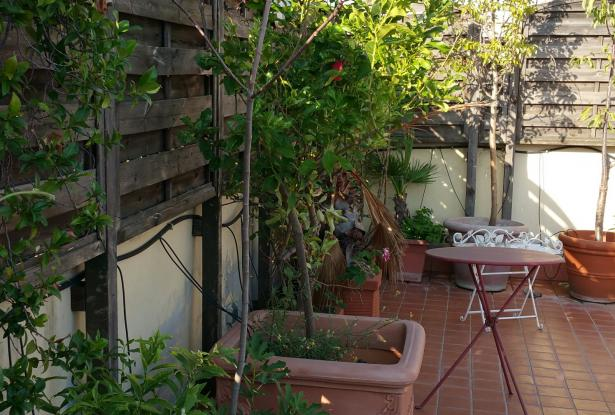 Rome top floor apartment with rooftop terrace. ref.01r 14