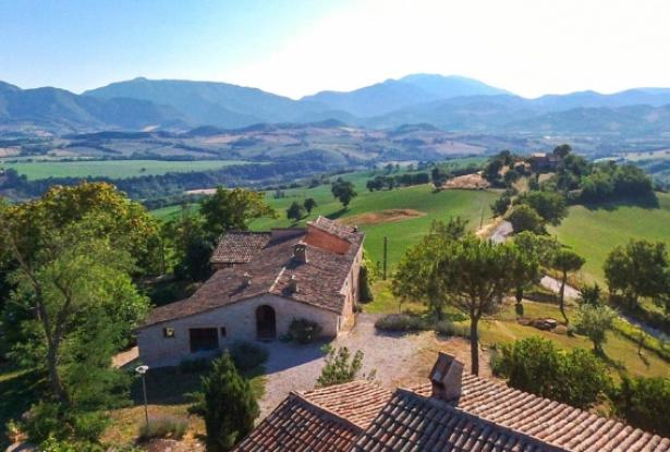 Superb Farmhouse With Views of Valle del Metauro, Le Marche 0