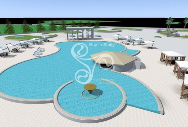 Plot with approved project for build Hotel, Marina di Ragusa (Rg) 046-20 9