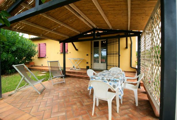 Small villa with 1500 square meters of land in the Castagneto Carducci countryside 22