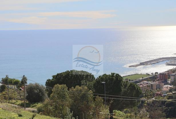 A941 Land for Sale in Bordighera, Montenero area, with a beautiful sea view. 6