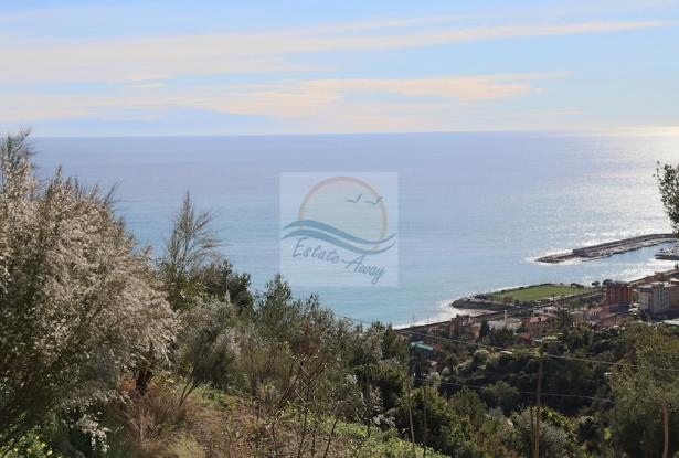 A941 Land for Sale in Bordighera, Montenero area, with a beautiful sea view. 9