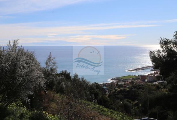 A941 Land for Sale in Bordighera, Montenero area, with a beautiful sea view. 10
