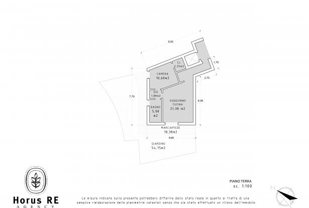 Tenno, one bedroom apartment with garden 18