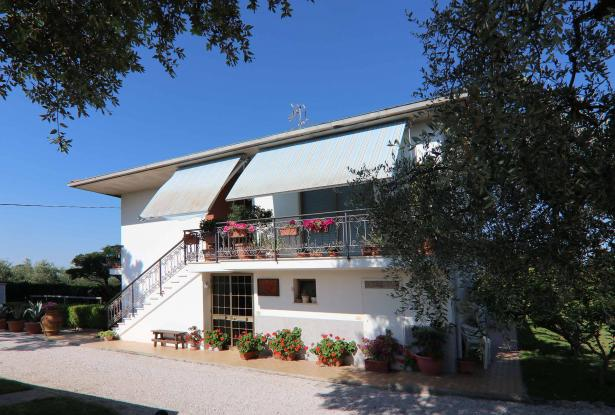 Donoratico, in the Tuscan countryside single house of two apartments with olive grove 21