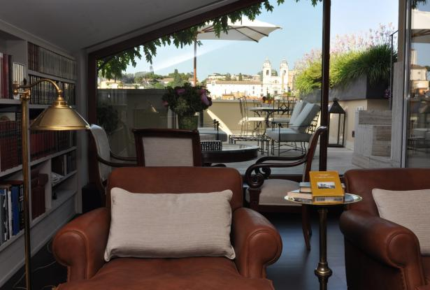 Penthouse in the historical center of Rome 10