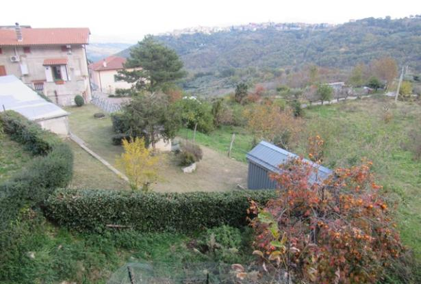Panoramic position, 20sqm terrace, detached stone 5 bedroom house with garden, land and garage. 11