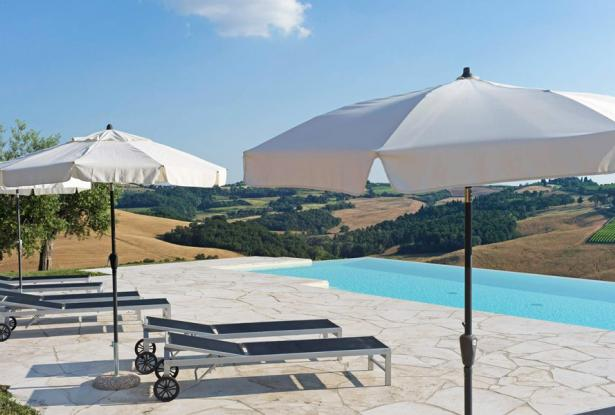 Amazing Restored Farmhouse With Pool In Asciano, Tuscany 13