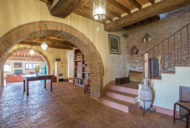 Amazing Restored Farmhouse With Pool In Asciano, Tuscany 23