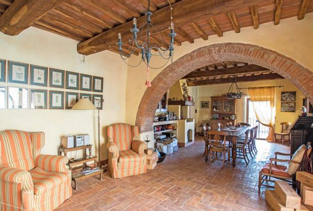 Amazing Restored Farmhouse With Pool In Asciano, Tuscany 25