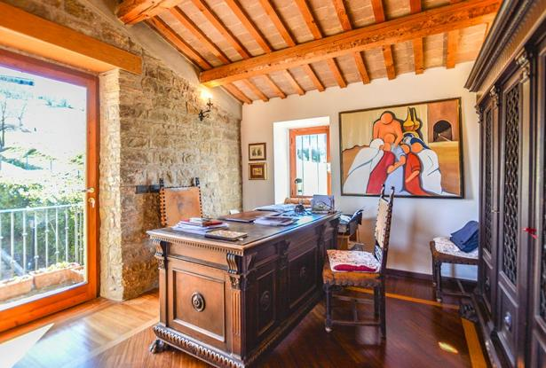 Cozy Stone Farmhouse With Outbuildings in the Marche hills 18