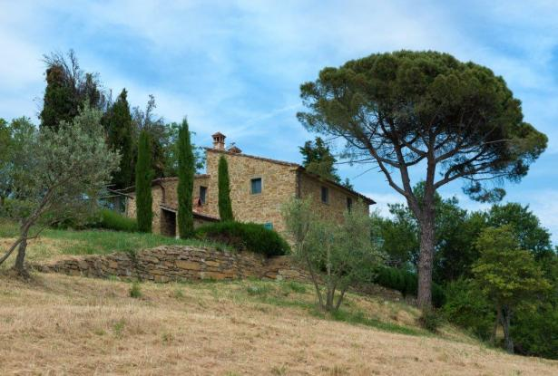 Restored Country Home for sale in Tuscany near Arezzo Ref. TCR-004  4