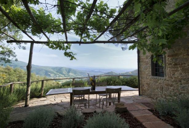 Restored Country Home for sale in Tuscany near Arezzo Ref. TCR-004  5