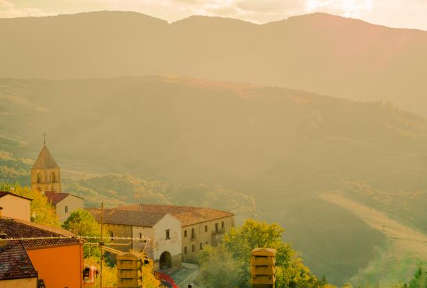 Stunning countryside in Basilicata