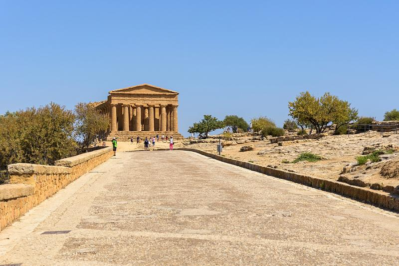Valley of the Temples archeological park Sicily