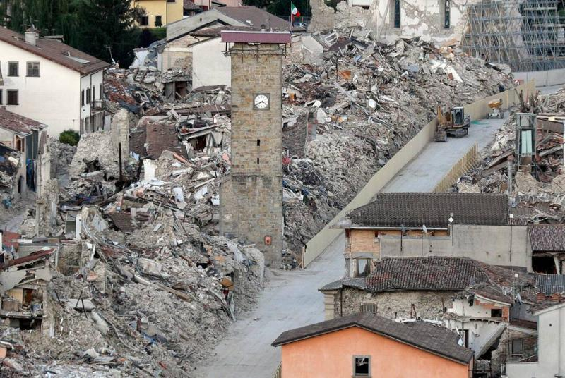 Amatrice A Year After The Earthquake Italy Magazine