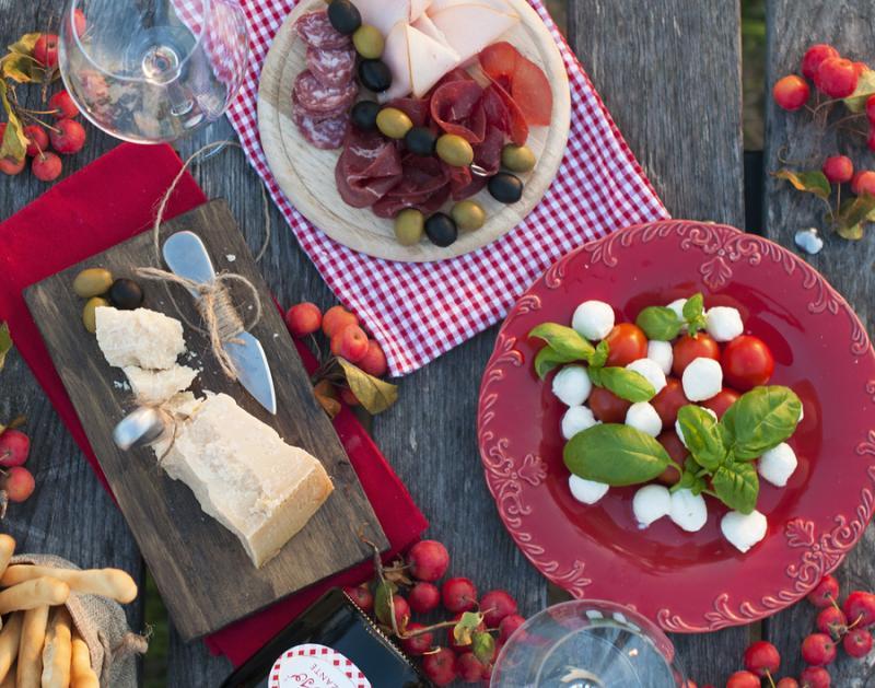 World of Flavours Italian Serving//Antipasti Board