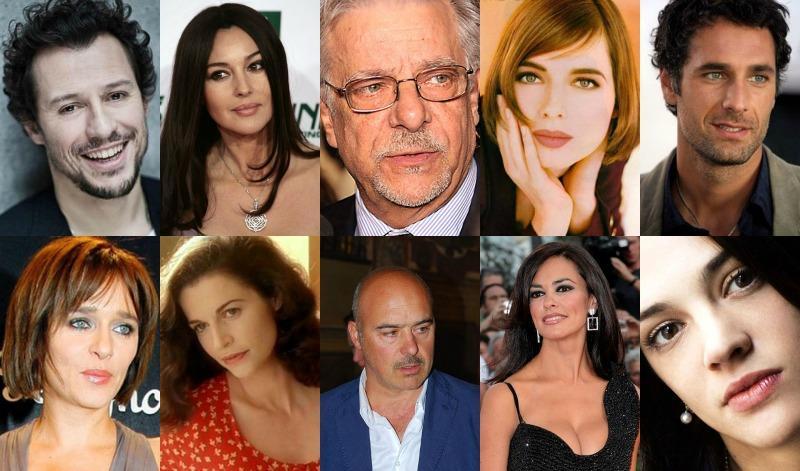 Female celebrities italian 10 Most
