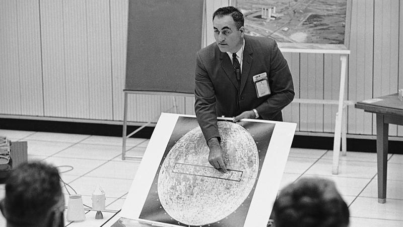 Rocco Petrone, director of the Apollo program at NASA