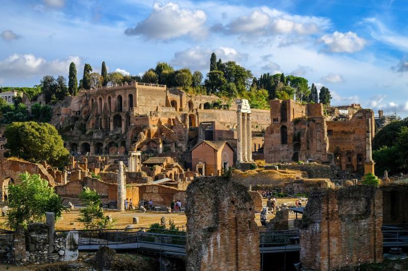3,000 Years of History on Rome's Palatine Hill | ITALY ...