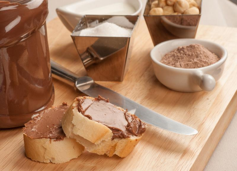 homemade nutella ingredients