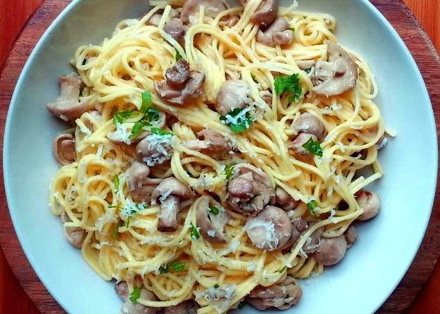 pasta mushrooms