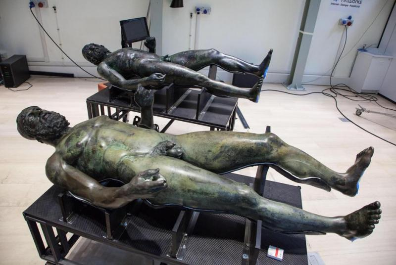 Riace Bronzes Return to Reggio Calabria Museum After Years ...