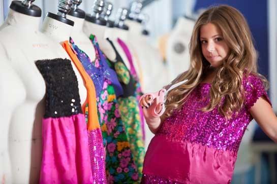 Cecilia Cassini 12 Year Old Italian American Fashion Designer Gets Tv Show Italy Magazine