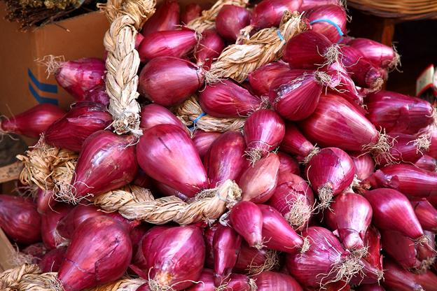 Red onion of Tropea