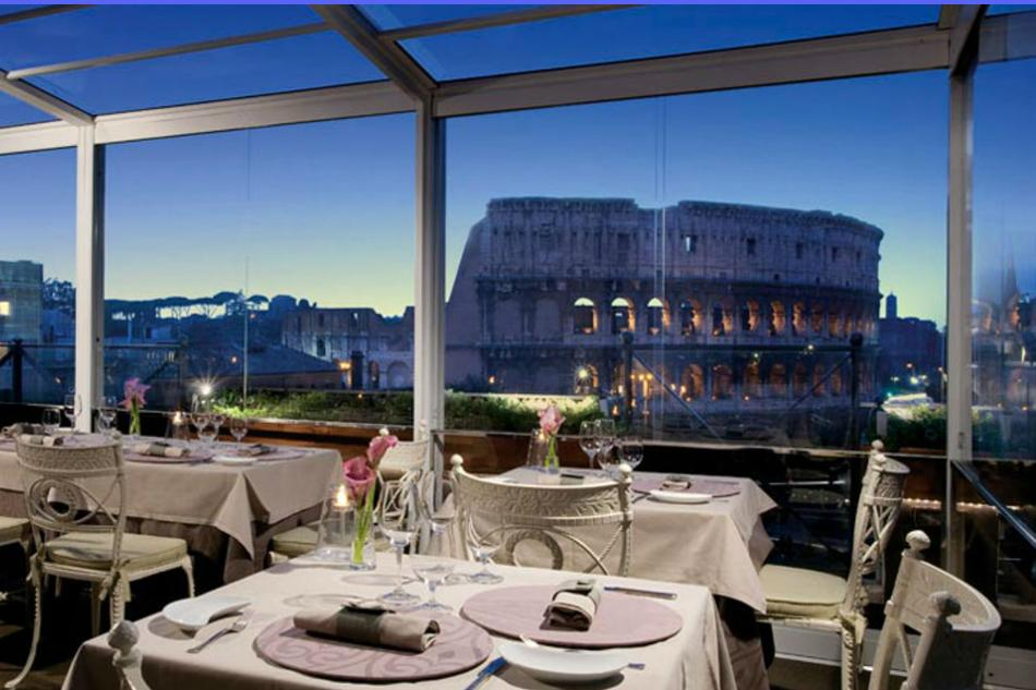 Dinner Cocktails With A View Discover Rome S Best Rooftop