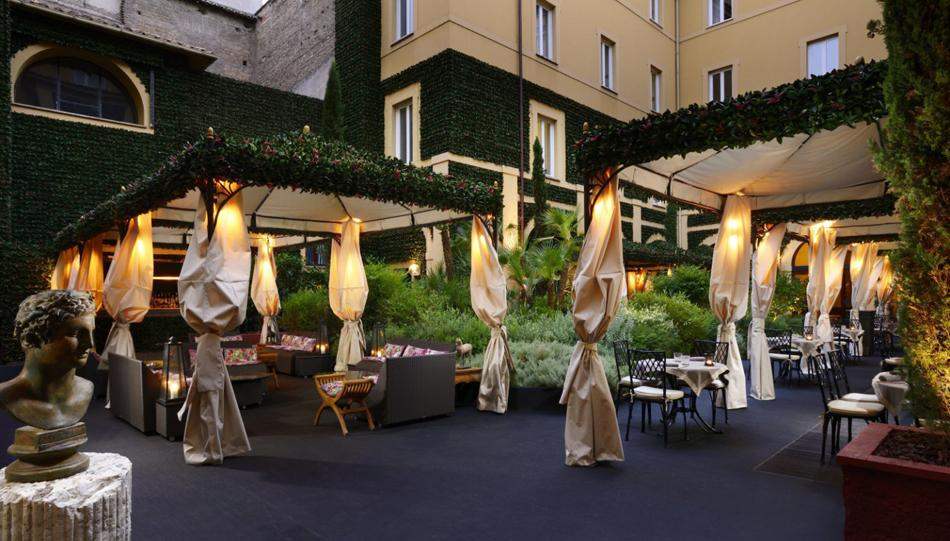 7 Exclusive Hotels In Rome To Enjoy Aperitivo Even If You