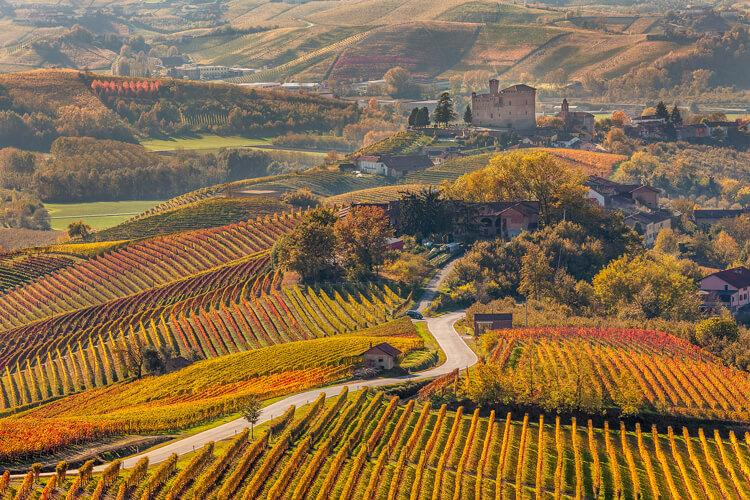 what to see in Piedmont