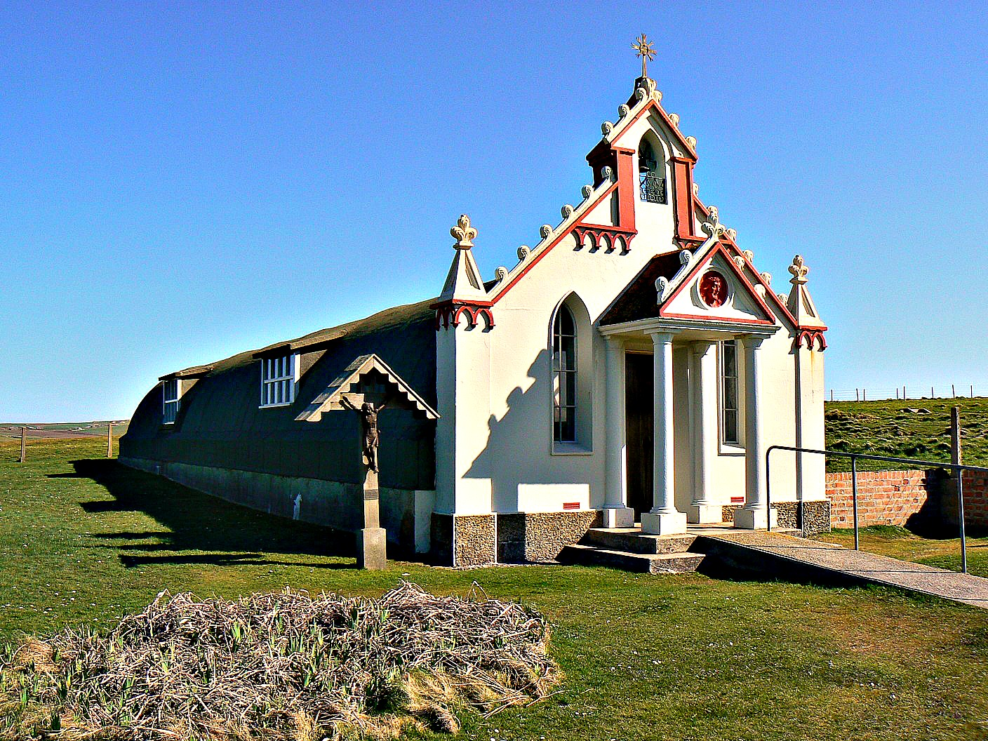 Orkney Chapel Today