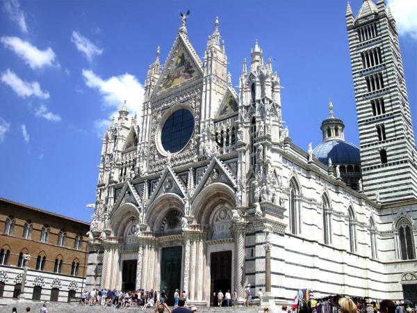 Italian Gothic Style Duomo Di Siena