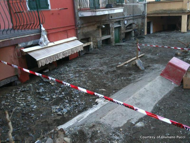Flood in Vernazza