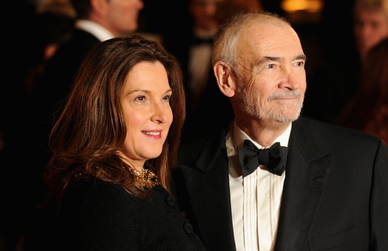 Michael G. Wilson and Barbara Broccoli
